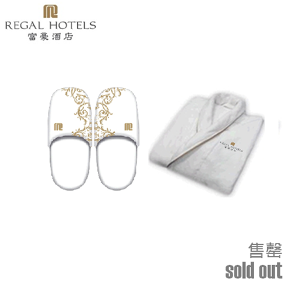 Picture of Regal Hotels Slipper and Bathrobe