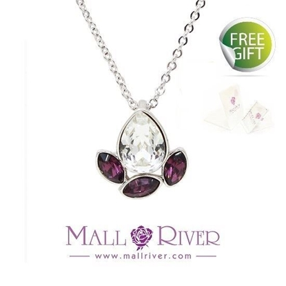 Picture of Mall River Amethyst Drop Necklace