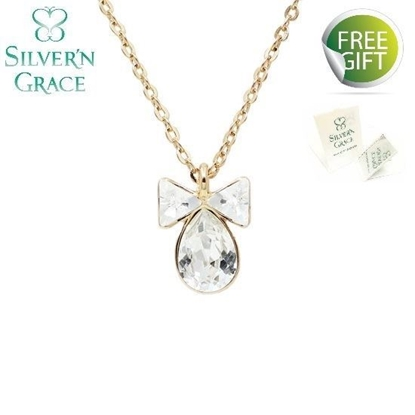 Picture of Silver'n Grace Ribbon RG Necklace