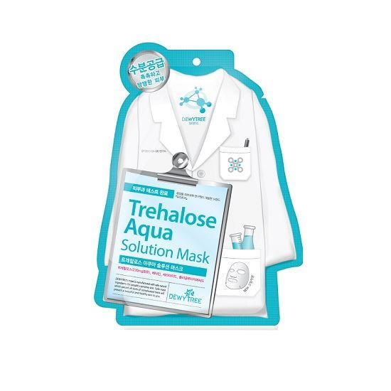 Picture of DEWYTREE TREHALOSE AQUA SOLUTION MASK (10PCS)