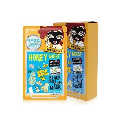 Picture of DEWYTREE - HONEY MOIST BLACK MASK (10PCS)