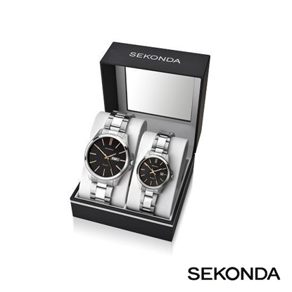 Picture of Sekonda Ladies' And Gent's Gift Set