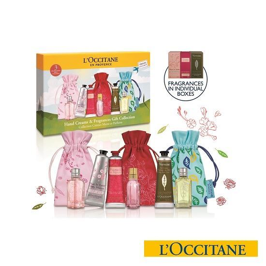 Picture of L'Occitane Hand Creams & Fragrance Kit Collection