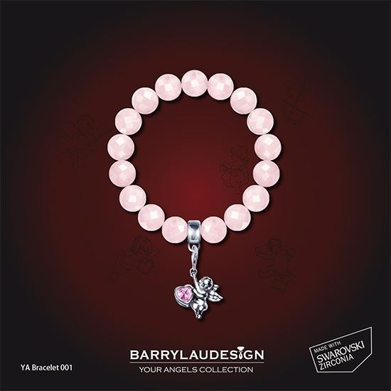 Picture of Barry Lau Design - 'Give Heart Angel' Charm Bracelet (A)