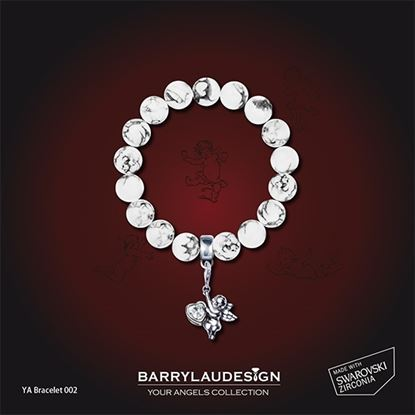 Picture of Barry Lau Design -  'Give Heart Angel' Charm Bracelet (B)