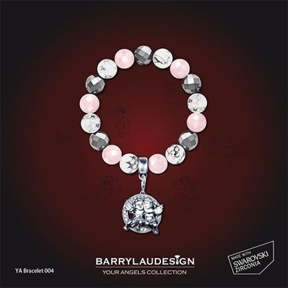 Picture of Barry Lau Design - 'Best Friend Angels' Charm Bracelet (A)