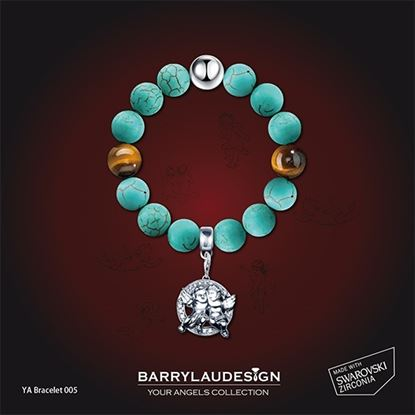 Picture of Barry Lau Design - 'Best Friend Angels' Charm Bracelet (B)
