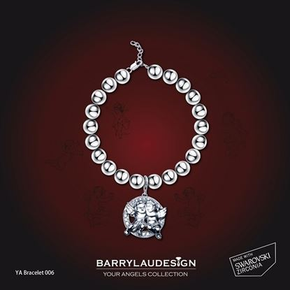 Picture of Barry Lau Design - 'Best Friend Angels' Charm Bracelet (C)
