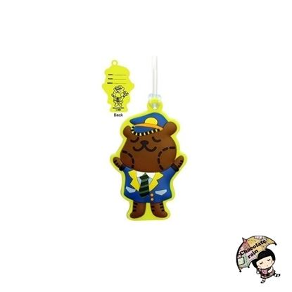 Picture of Chocolate Rain Luggage tag (Toffee bear)