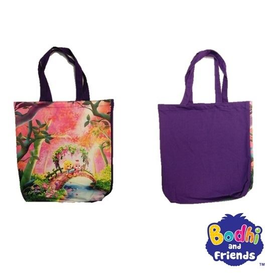 Picture of Bodhi and Friends Canvas Bag (Sunset)