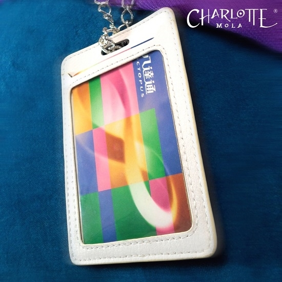 Picture of Charlotte Mola Card Holder with Chain Necklace - Jellyfish (for Working pass / Octopus card)