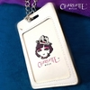 Picture of Charlotte Mola Card Holder with Chain Necklace - Moon Kii Happy (for Working pass / Octopus card)