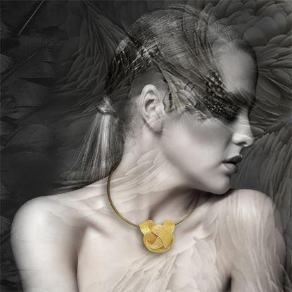 图片 MIDOTI 乐诺系列 - 贴颈项链 2.0 (金)