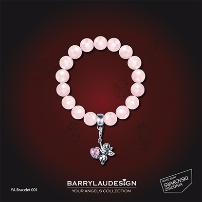 Picture of Barry Lau Design - 'Give Heart Angel' Charm Bracelet