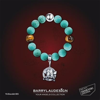 Picture of Barry Lau Design - 'Best Friend Angels' Charm Bracelet (B)