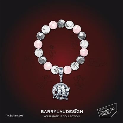Picture of Barry Lau Design - 'Best Friend Angels' Charm Bracelet (A)