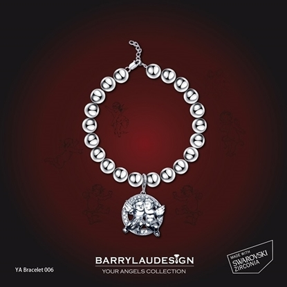 Picture of Barry Lau Design - 'Best Friend Angels' Charm Bracelet
