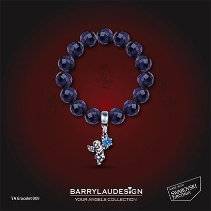Picture of Barry Lau Design - 'Angel & Crown' Charm Bracelet (B)