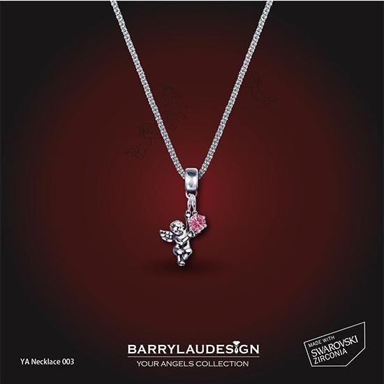 图片 Barry Lau Design - Angel & Crown 颈链