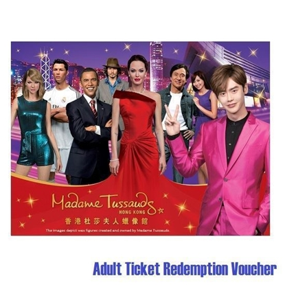 图片 香港杜莎夫人蜡像馆 (成人换票券)