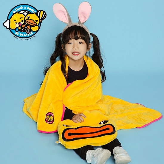 Picture of B.Duck × Bodhi Cushion Blanket