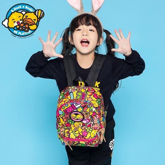 圖片 B.Duck x 寶狄 小童雙肩包 兒童卡通可愛雙肩包 2-6歲跨界聯名款