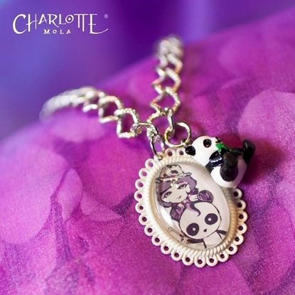 Picture of Charlotte Mola Necklace (with Panda pendant)