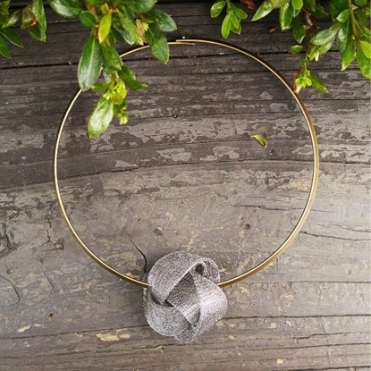 Picture of MIDOTI Knot Lots Choker 1.0 Charcoal