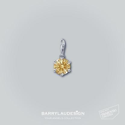 图片 Barry Lau Design - 'Crown Setting' 吊饰 (黄)