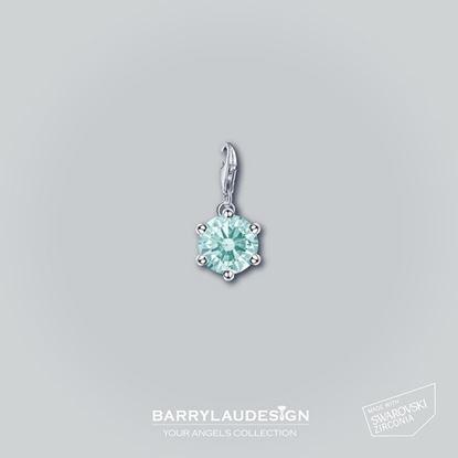 图片 Barry Lau Design - 'Crown Setting' 吊饰 (薄荷绿)