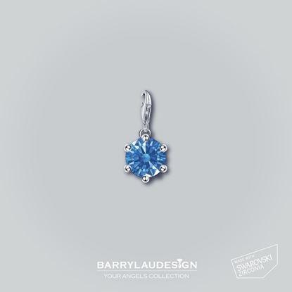 图片 Barry Lau Design - 'Crown Setting' 吊饰 (蓝)