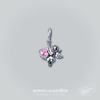 图片 Barry Lau Design - 'Give Heart Angel' 吊饰 (粉红)