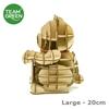 Picture of Maneki-neko Lucky Cat 3D Plywood Puzzle (Large - 20cm) Team Green® JIGZLE®