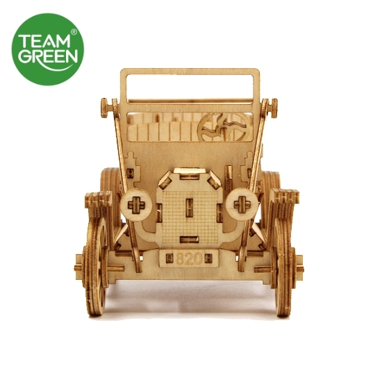 Icubi Mall – Classic Car Phone Stand 3D Plywood Puzzle - Team