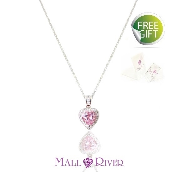 Picture of Mall River Heart to Heart Necklace