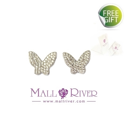 Picture of Mall River Fantastic Butterfly Earrings