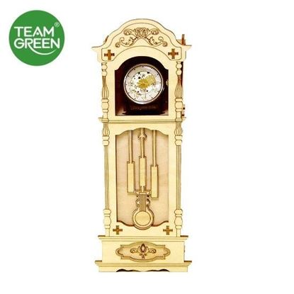 Picture of Antique Clock Watch Case 3D Plywood Puzzle - Team Green® JIGZLE®