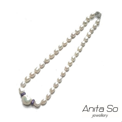 Picture of Anita So Fancy Pearl Necklace (baroque pearl)
