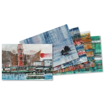 "Picture of Postcard Set  - ""Under the stroke of Water Poon Hong Kong ⋅ Singapore "" (5pcs/ set)"