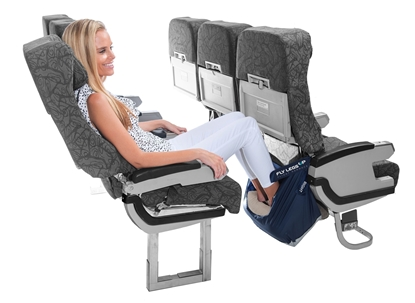 Picture of Fly Legs Up - Feel Comfortable When Flying Economy