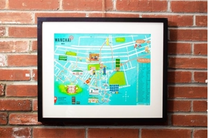 Picture of WANCHAI MAP PRINT