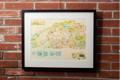 Picture of SHEUNG WAN MAP PRINT
